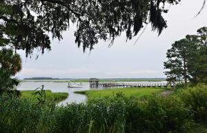 May River at Palmetto Bluff on a South Carolina honeymoon