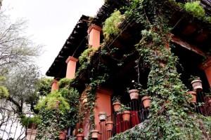 Casa Hyer in San Miguel de Allende on a Mexico honeymoon