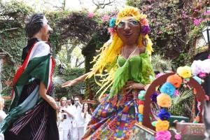 Mojigangas in San Miguel de Allende on a Mexico honeymoon
