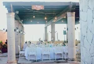 rooftop wedding venue  at Hacienda Encantada all inclusive resort  in Los Cabos, Mexico