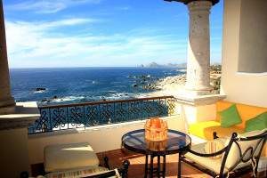 view from suite at Hacienda Encantada resort  in Cabo