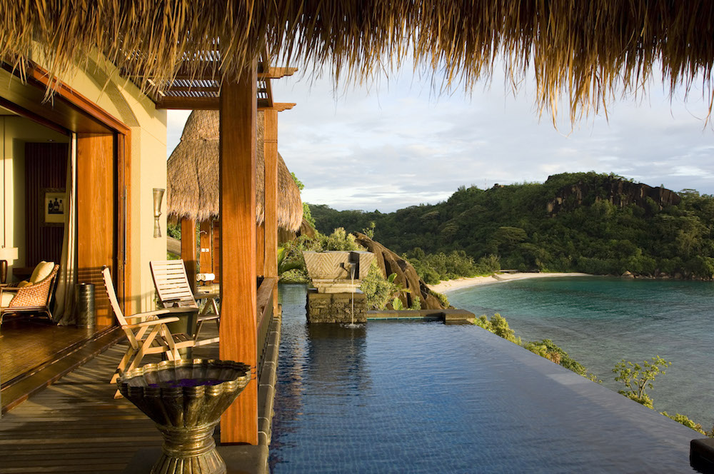 plunge pool suite at MAIA Resort in Seychelles