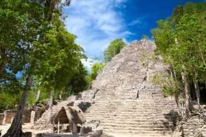Ruins at Coba by Nataliya Hora/Shutterstock.com
