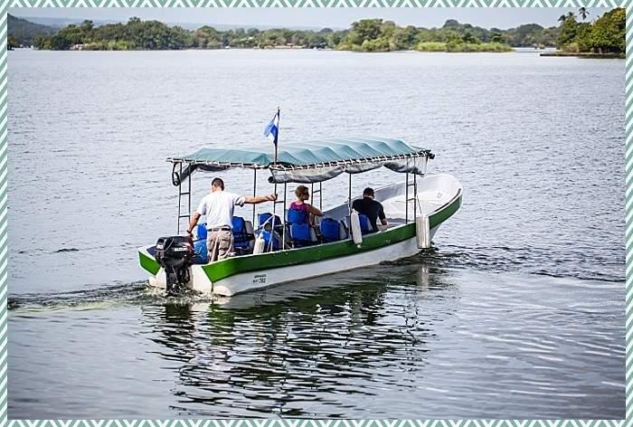 boat tour of Lake Nicaragua