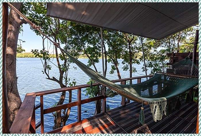 hammock at Jicaro eco resort
