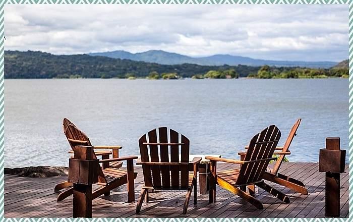 view of lake Nicaragua at Jicaro romantic eco resort