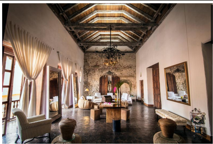 Romantic hotels in cartagena s old city the honeymoonist for Hotel el marques