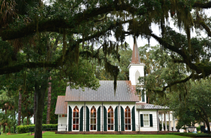 Destination wedding chapel at Palmetto Bluff