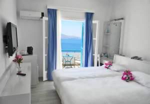 Room at Aegealis Resort & Spa on a Greece honeymoon