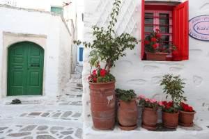 Chora on a Greece honeymoon