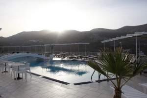 Pool at Aegealis Resort & Spa on a Greece honeymoon