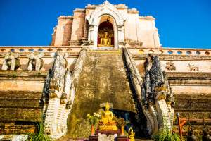 Temple on a Thailand honeymoon