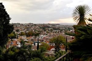 view of San Miguel de Allende on a Mexico honeymoon