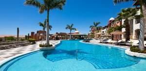 family pool  at Hacienda Encantada all inclusive resort  in Cabo