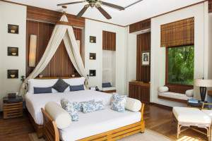 Bedroom at MAIA resort