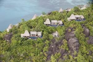 Maia pool villas on bluff