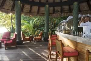 Sunset pool bar