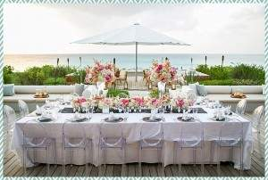 Table at Amanyara by Scott Clark Photo