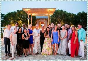 Amanyara wedding group by Scott Clark Photo