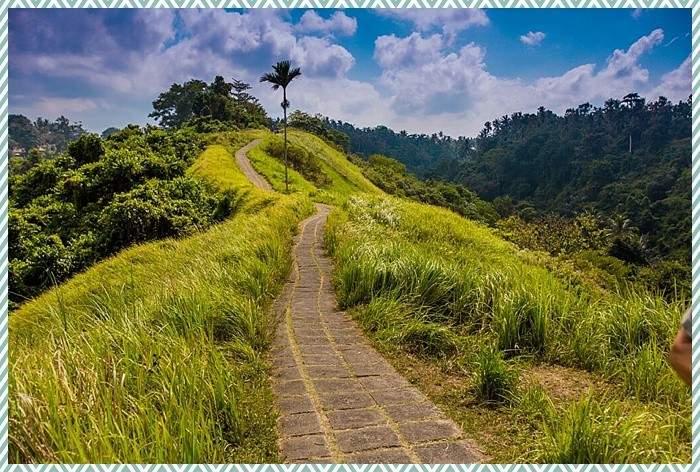 road in Bali