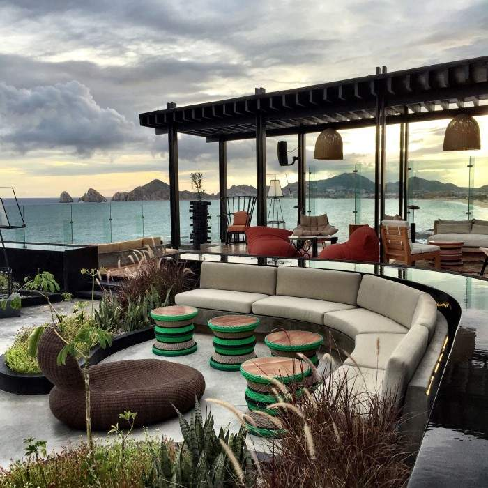 Rooftop bar at The Cape